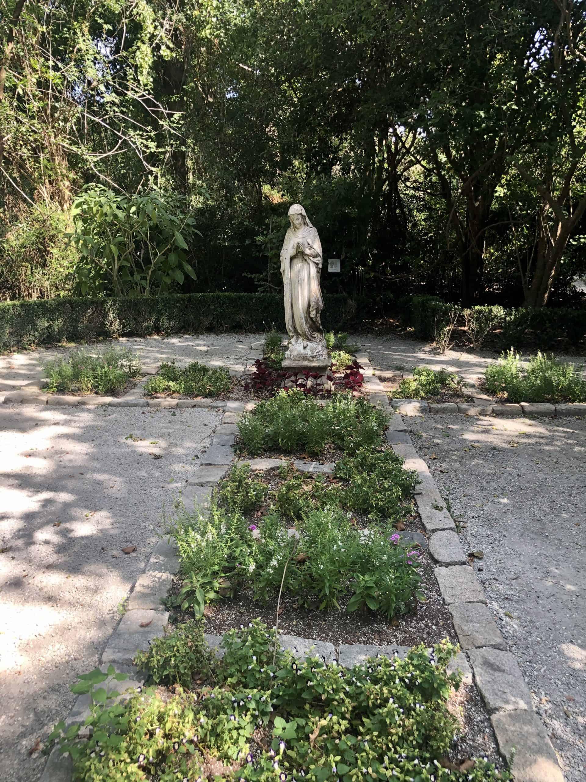Religious Garden at the Magnolia Plantation & Gardens in Charleston, SC