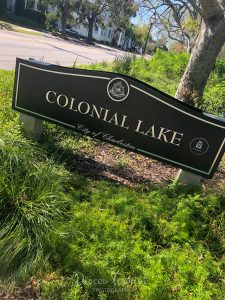 Colonial Lake Park in Charleston SC