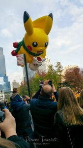 Pikachu at the Macy's Thanksgiving Day Parade in New York