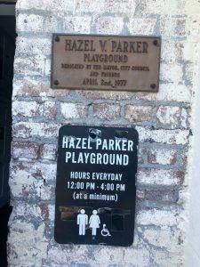 Hazel Parker Playground in Charleston SC