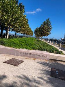 Joe Riley Waterfront Park in Charleston SC