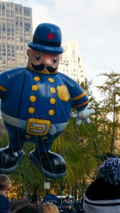 Policeman Float at the Macy's Thanksgiving Day Parade in New York
