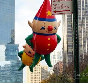 Santa's Elves at the Macy's Thanksgiving Day Parade in New York