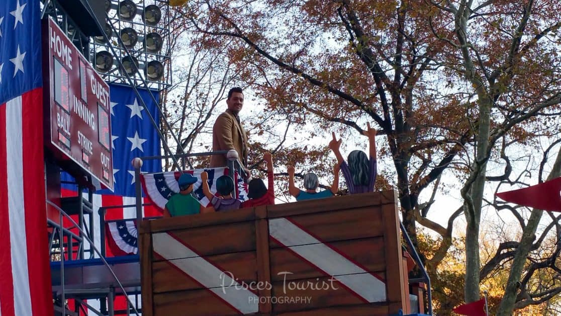 Andy Grammer at the Macys Thanksgiving Day Parade