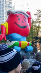Kool Aide Man at the Macy's Thanksgiving Day Parade in New York