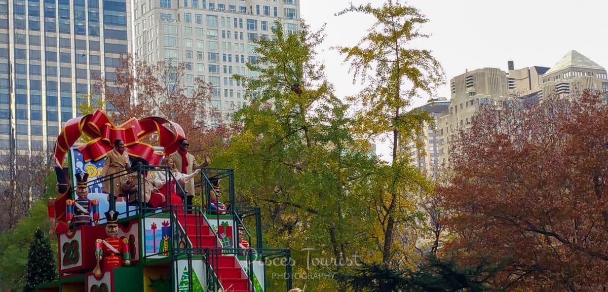 Mariah Carey at the Macys Thanksgiving Day Parade