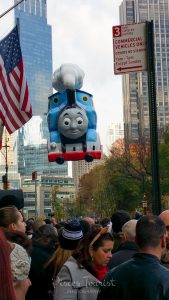 Thomas The Toy Train at the Macy's Thanksgiving Day Parade in New York