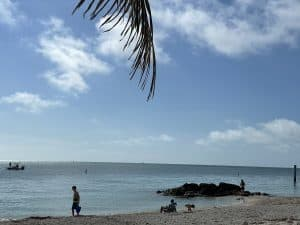 Fort Zachary Taylor Historic State Beach Park in Key West Florida