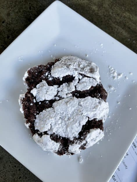 Chocolate Peppermint Christmas Cookie at The Herban Market & Cafe